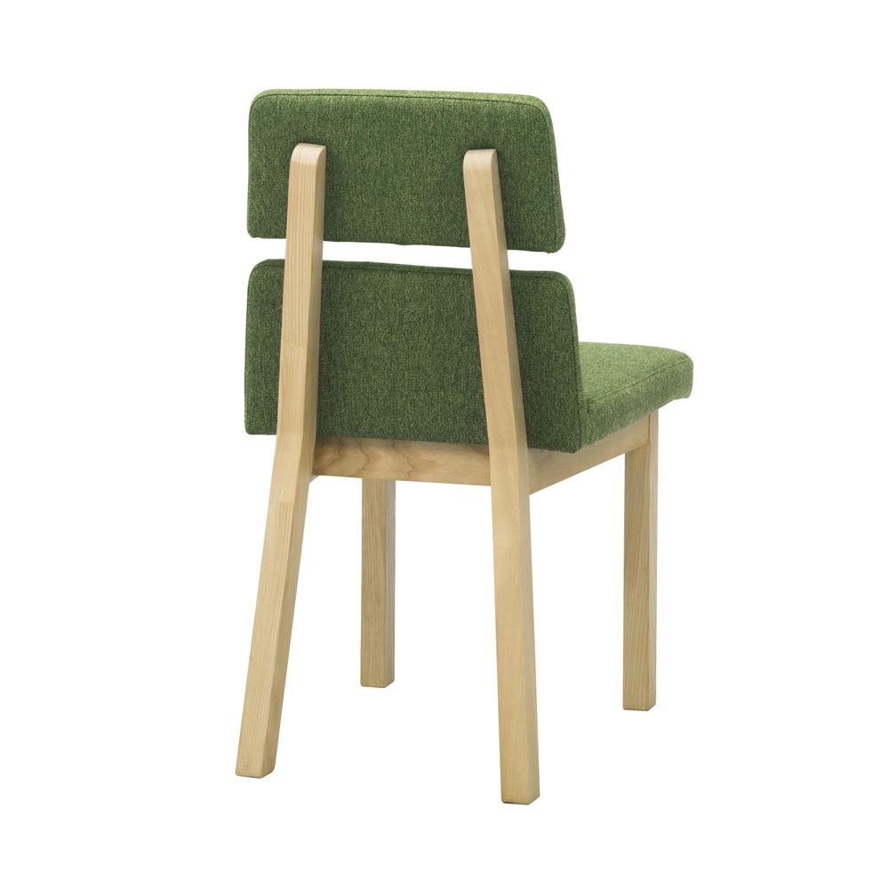 hang dining chair / ハング ダイニングチェア (グリーン/ナチュラル(背面))