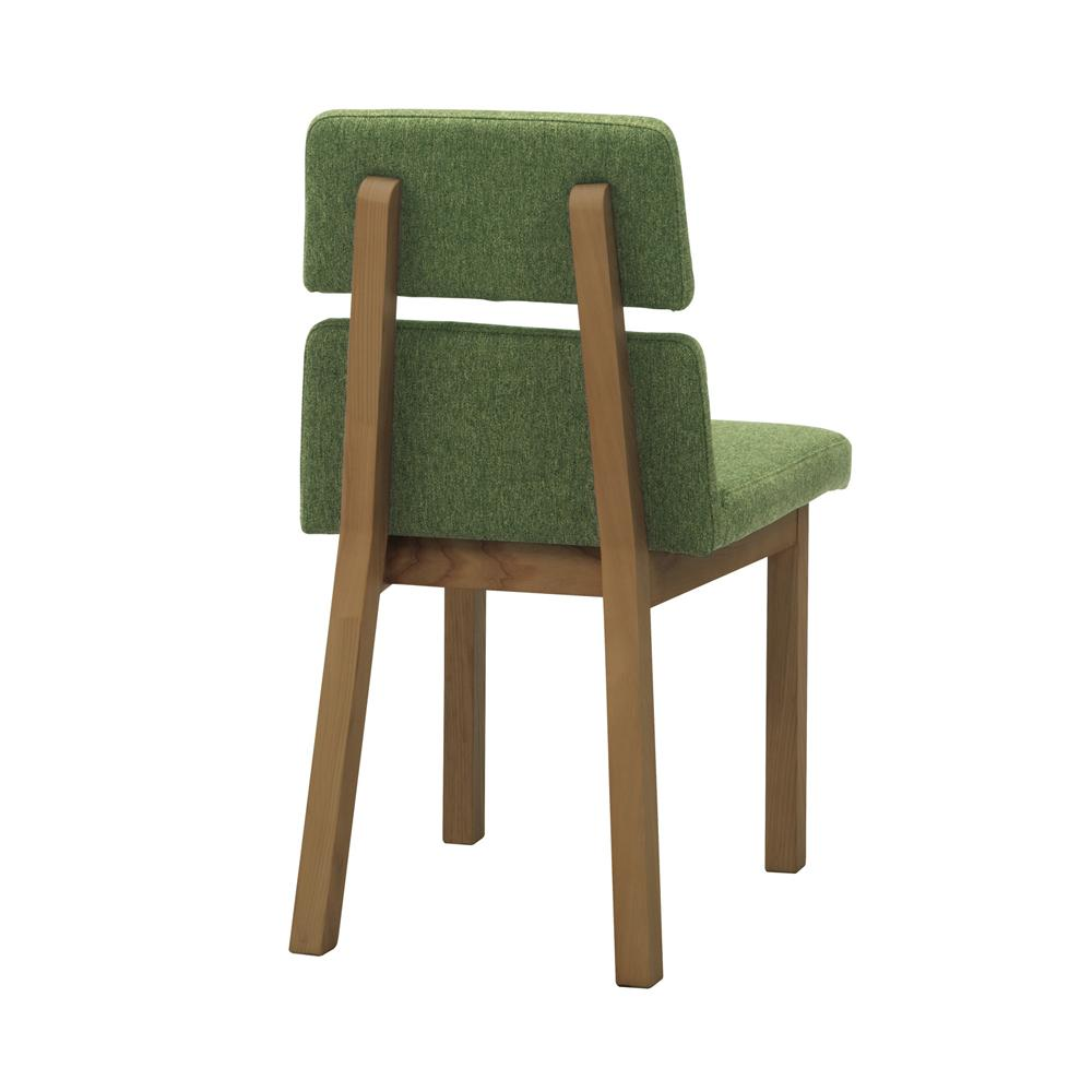 hang dining chair / ハング ダイニングチェア (グリーン/ブラウン(背面))