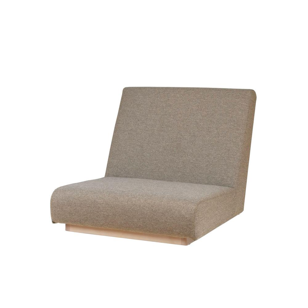 form low sofa 1seater / フォームローソファ 1人掛け(ベージュ)