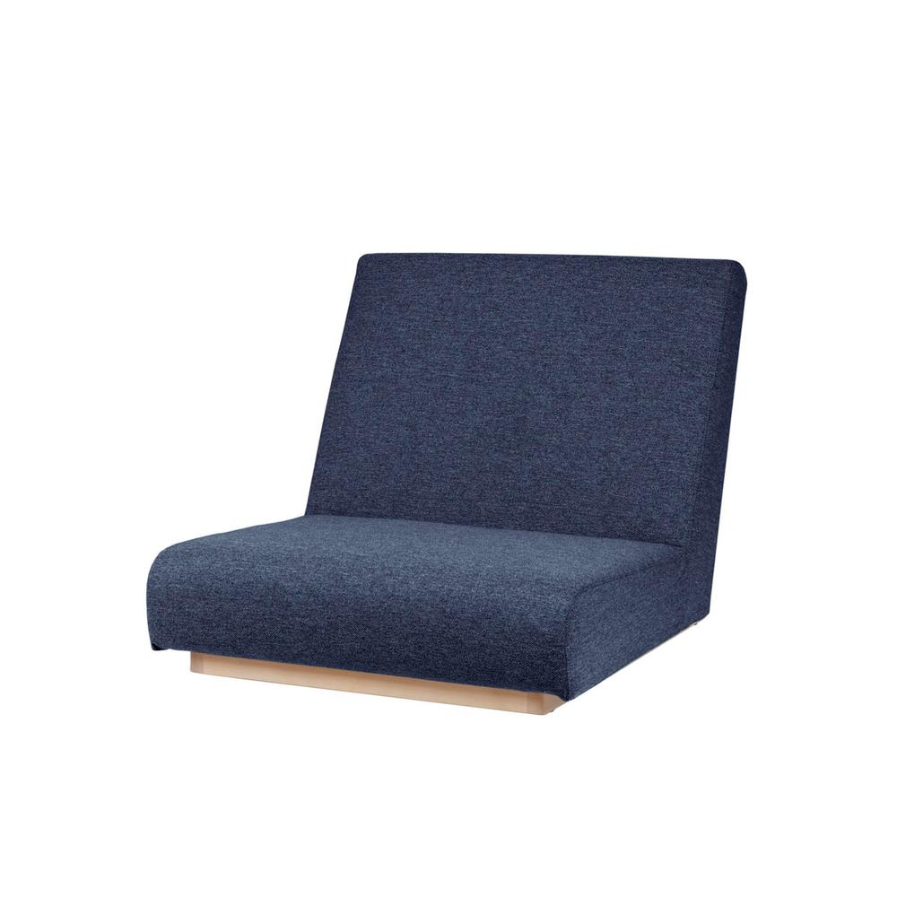 form low sofa 1seater / フォームローソファ 1人掛け(ブルー)