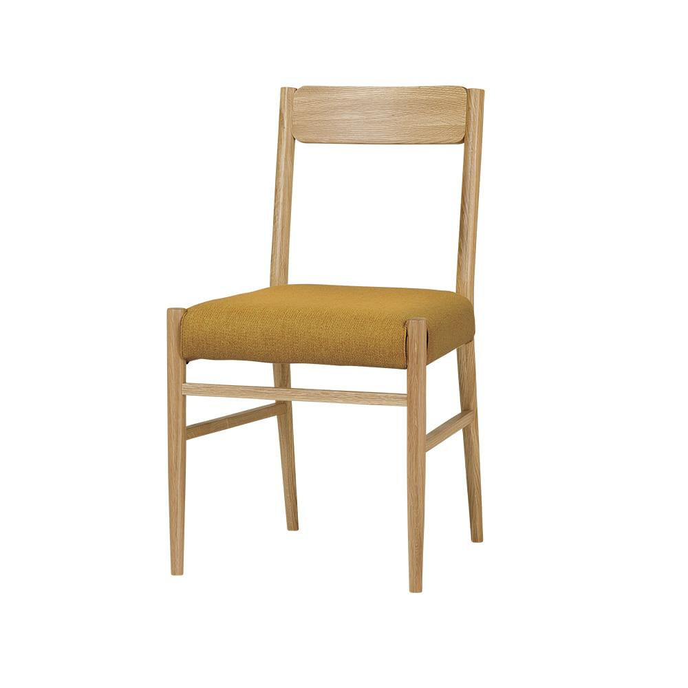 STAY DINING SERIES dining chair / ステイダイニングシリーズ ダイニングチェア(マスタード)